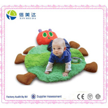 Fashional and Soft Short Floss Caterpillar Shaped Baby Play Mat